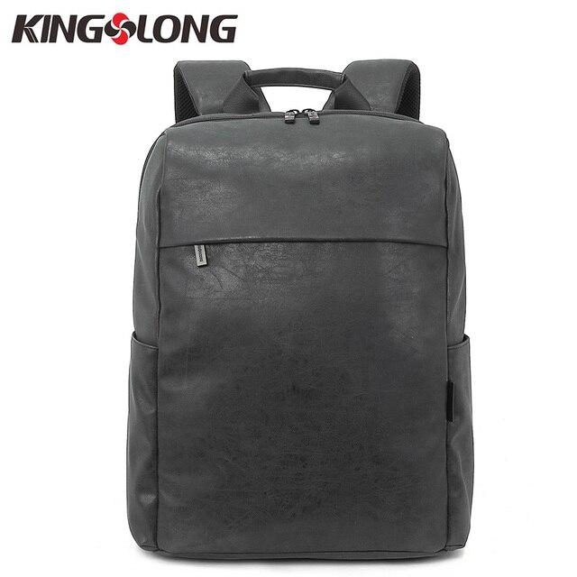 Aliexpress.com : Buy KINGSLONG PU Leather Backpack for Women Men ...