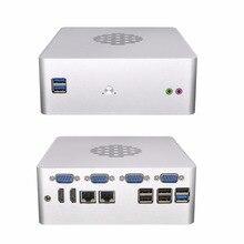 6 Gigabit LAN Mini Computer Server,DDR4 RAM,M.2 SSD,Dedicated CPU G3930,VGA,RS232 Optional Q615G6