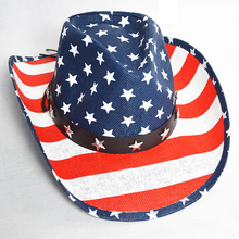 2019 new cowboy hat make america great again Western Wide Brim Solid Caps gentleman horse riding prom Unisex hats