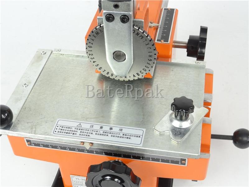 Ręczna maszyna do znakowania BateRpak YL-360, aluminiowa maszyna do - Narzędzia ręczne - Zdjęcie 4