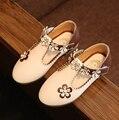 2016 Autumn Toddler Girls Shoes Children Princess Flower Shoes Little Kids Casual Dance Shoes