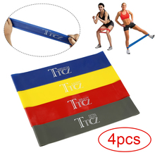 4 1PCs Yoga Resistance Rubber Bands Kinetic Home Gym Exercise Workout Bands Yoga Resistance Bands Set Elastic Bands for Fitness cheap TTCZ Unisex Other Stretch band Comprehensive Fitness Exercise Latex Yellow Grey Blue Red 500*50*0 45mm 500*50*0 55mm 500*50*0 65mm 500*50*0 9mm