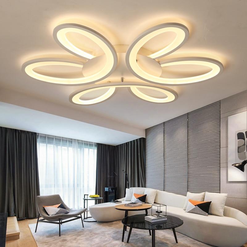 Ultradünne Kunst Oberfläche Montiert Moderne Led Deckenleuchten Für Wohnzimmer  Schlafzimmer Lamparas De Techo Führte Decke Lampe Leuchten