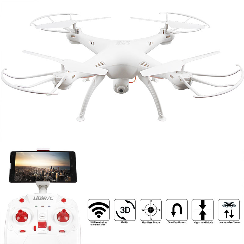 L15 Wifi Real Time Transmission 2 4Ghz RC Quadcopter Helicopter font b Drone b font Camera