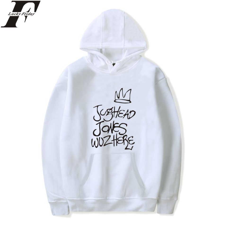 Fashion LUCKYFRIDAYF Riverdale Sweatshirt Hoodies Women/Men Kpop Streetwear Hoodies Casual Style Hoodies Women/Men Plus Size 4XL