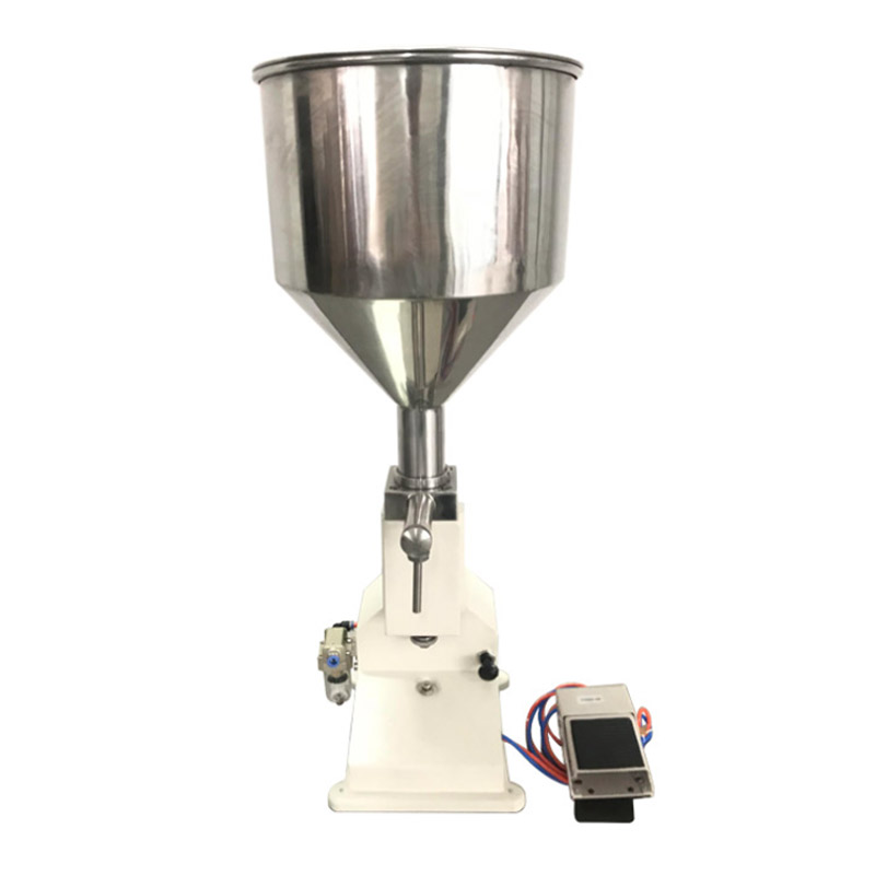 все цены на Pneumatic Filling Machine (5~50ml) for Cream & Shampoo & Cosmetic with foot pedal A02
