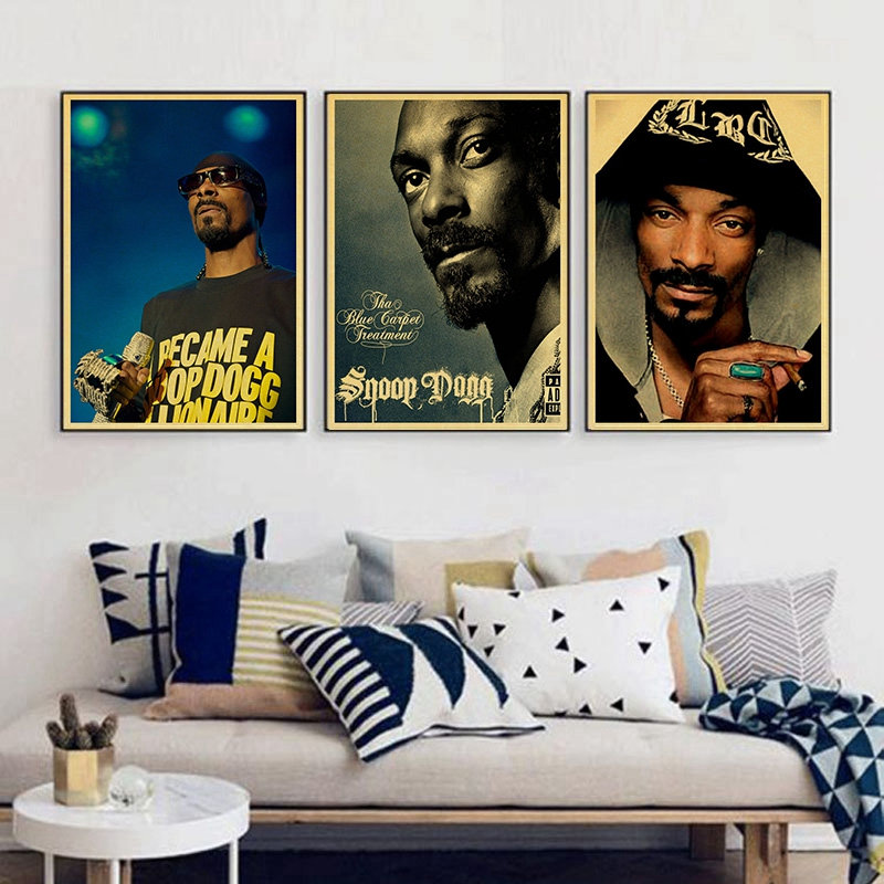Rapper  Snoop Dogg Bible Of Love The Next Episode Vintage Paper Poster Wall Painting Home Decoration 42X30 CM 30X21 CM