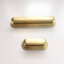 Cotom Золотая латунная ручка мебельные ящики ручки для шкафа