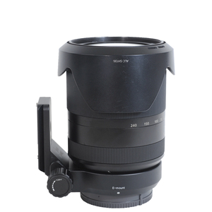 Image 4 - iShoot Lens Collar Tripod Mount Ring Support Bracket for Sony FE 24 240mm F3.5 6.3 OSS Lens with AS standard Quick Release Plate