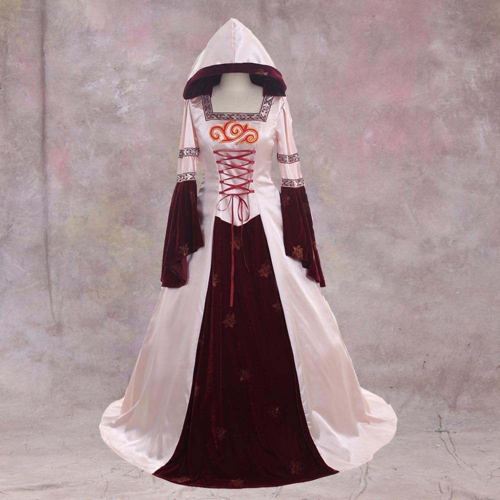 Cosplaydiy Ladies Victorian Aristocrat Ball Gown Vampire Pink Velet ...