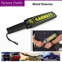 Portable Metal Detector Professional Mini Garrett Handheld Metal Detector Super Scanner Superscanner With Vibrator