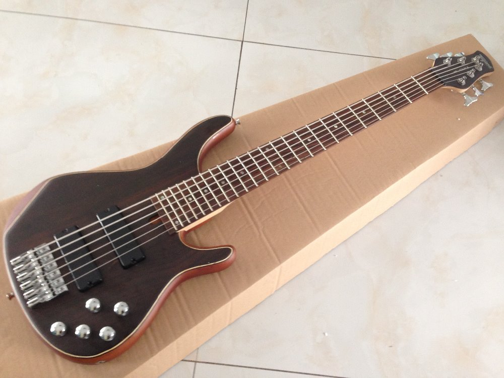 high quality 6strings electric bass guitar active pickups solid rosewood top in guitar from. Black Bedroom Furniture Sets. Home Design Ideas