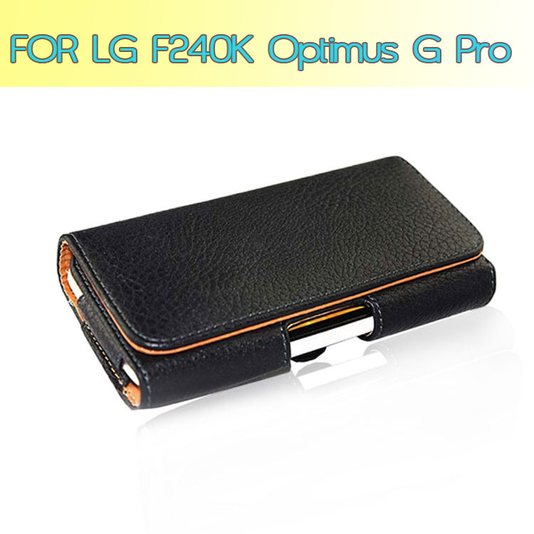 Holster Holder Leather Case Pouch Cover Wallet For LG Optimus G Pro ...
