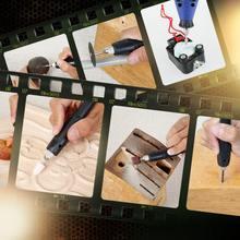 6 Скоростной Регулируемый электрошлифовальный станок набор для