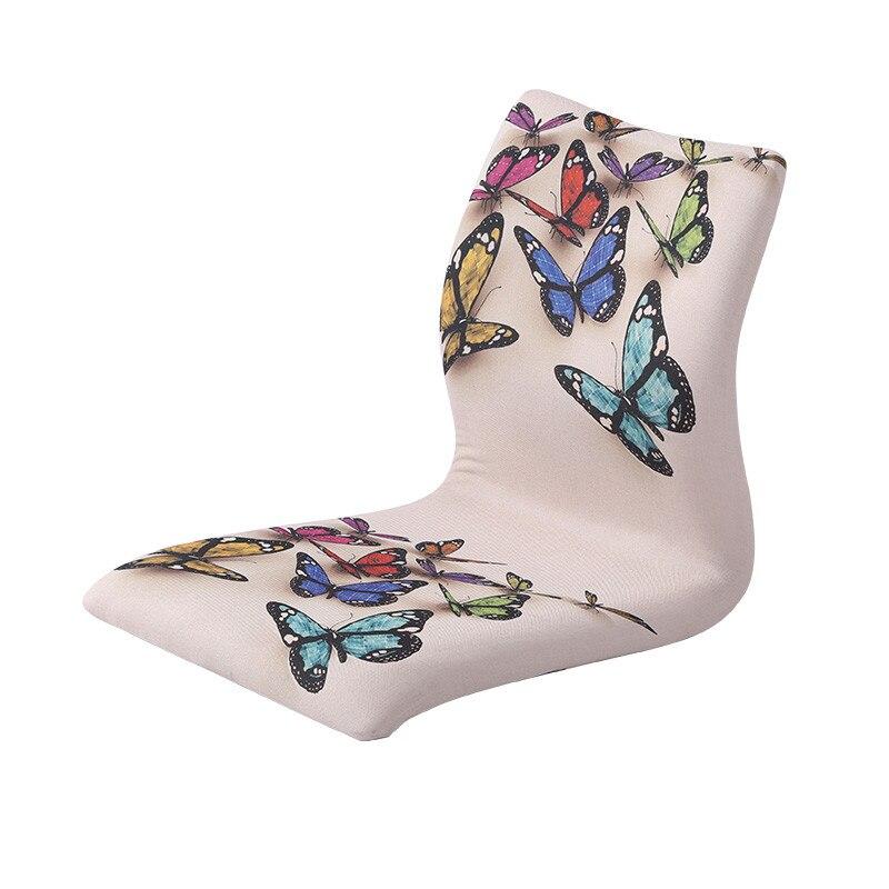 (4pcs/lot ) Wholesale Japanese Chairs Living Room Furniture Asian Style Washitsu Design Tatami Zaisu Legless Floor Chair Seat