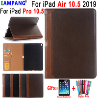 Premium Leather Case voor Apple iPad Air 10.5 2019 iPad Pro 10.5 2017 A1701 A1709 Als Boek Slimme Slaap Wakker cover Coque Funda