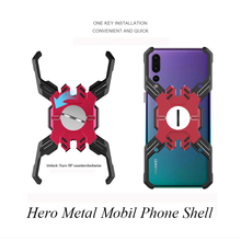For Huawei P20 Pro case Luxury Armor Metal Shockproof for Hero Mechanical Heavy Duty Cover