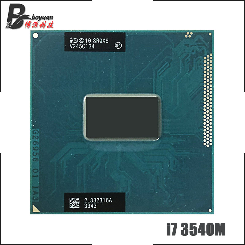 Intel Core i7 3540M i7 3540M SR0X6 3 0 GHz Dual Core Quad Thread CPU Processor