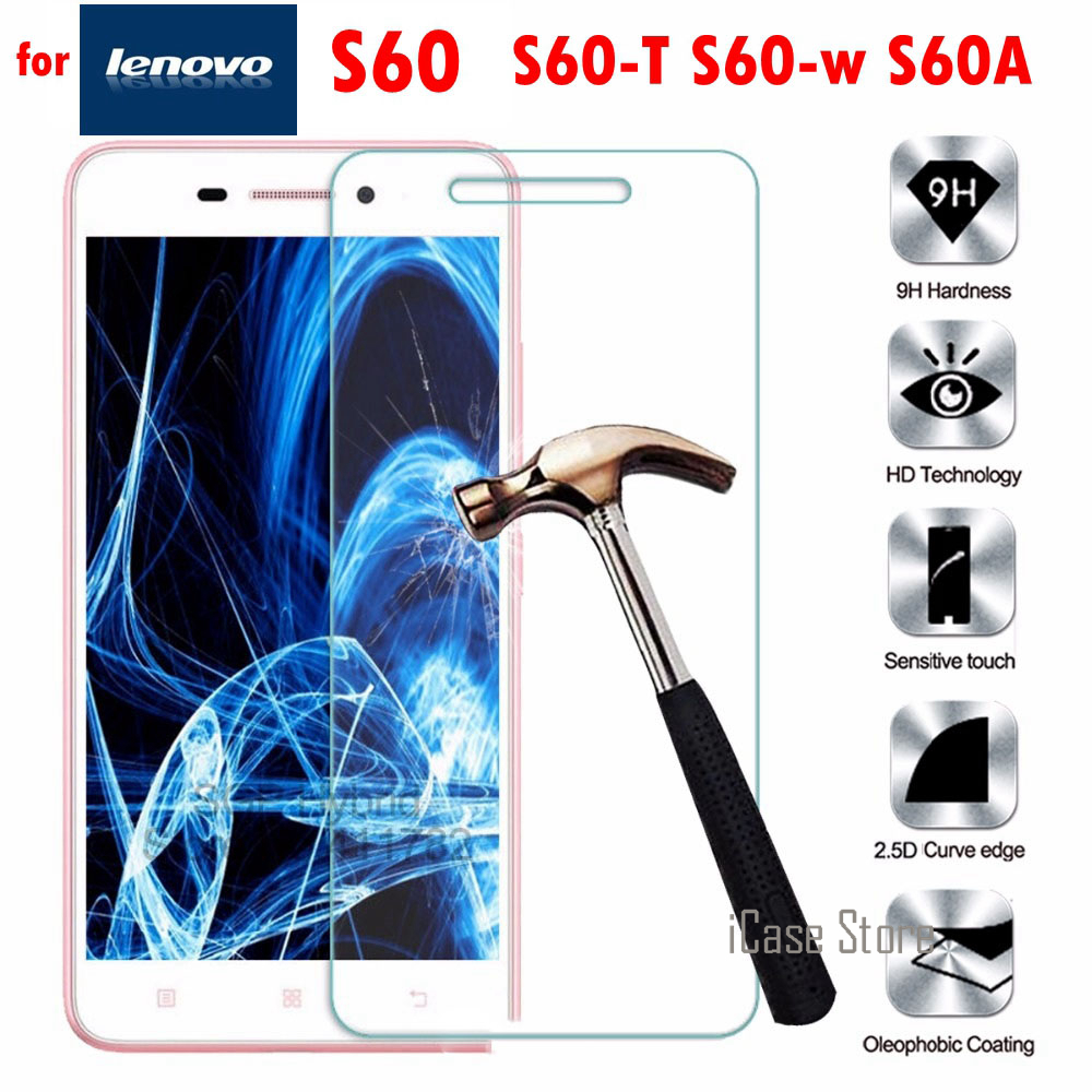 S60 9H Tempered Glass For Lenovo S60 S60-T S60-w S60A Screen Protector Film Case For Lenovo mobile phone smartphone elephone image