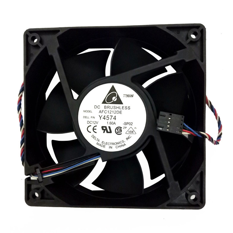 New Hi-speed 3700 Cooling Fan Replacement 4-pin Connector For Antminer Bitmain S7 S9 3700 R.P.M. (Revolutions per minute) free
