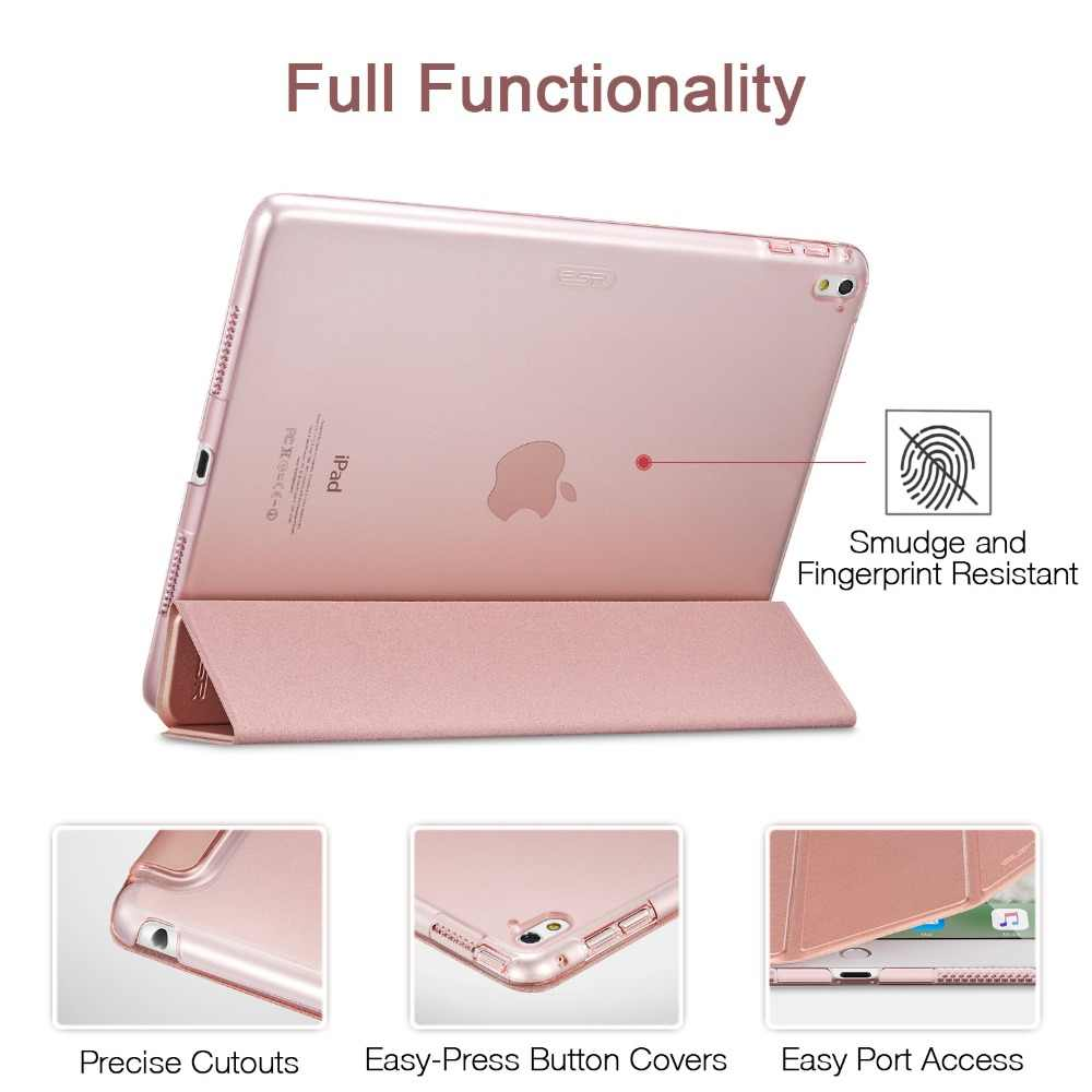 best loved 768c5 4c6b2 For iPad Pro 9.7 Case,ESR Smart Cover with Trifold Stand for Apple iPad Pro  9.7 inch Case PU Leather 2016 A1673/A1674/A1675