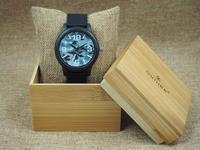 Online winkelen China houten horloge taobao quartz horloges bezel japan movt merk uw eigen horloges