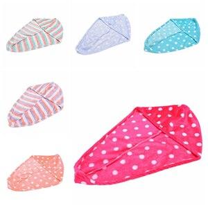 Image 3 - Gorro mágico de secado rápido para mujer de 25x62 cm, toalla para el cabello de secado rápido, Toalla de baño de hermoso secado, gorro envolvente de cabeza suave, Cosméticos de maquillaje, toallas para el cabello