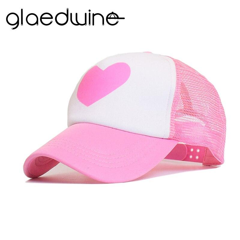 2018 Summer Hat For Men Cute Pink Rose Gravity Falls Mabel Dipper Mesh Summer Trucker Caps Young Pink Girl Cool Net Mesh Hat Cap