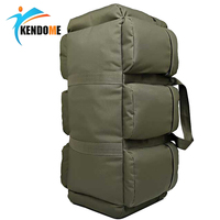 Hot 90L Large Capacity Men's Military Tactical Backpack Waterproof Oxford Hiking Camping Backpacks Wear resisting Travel Bag