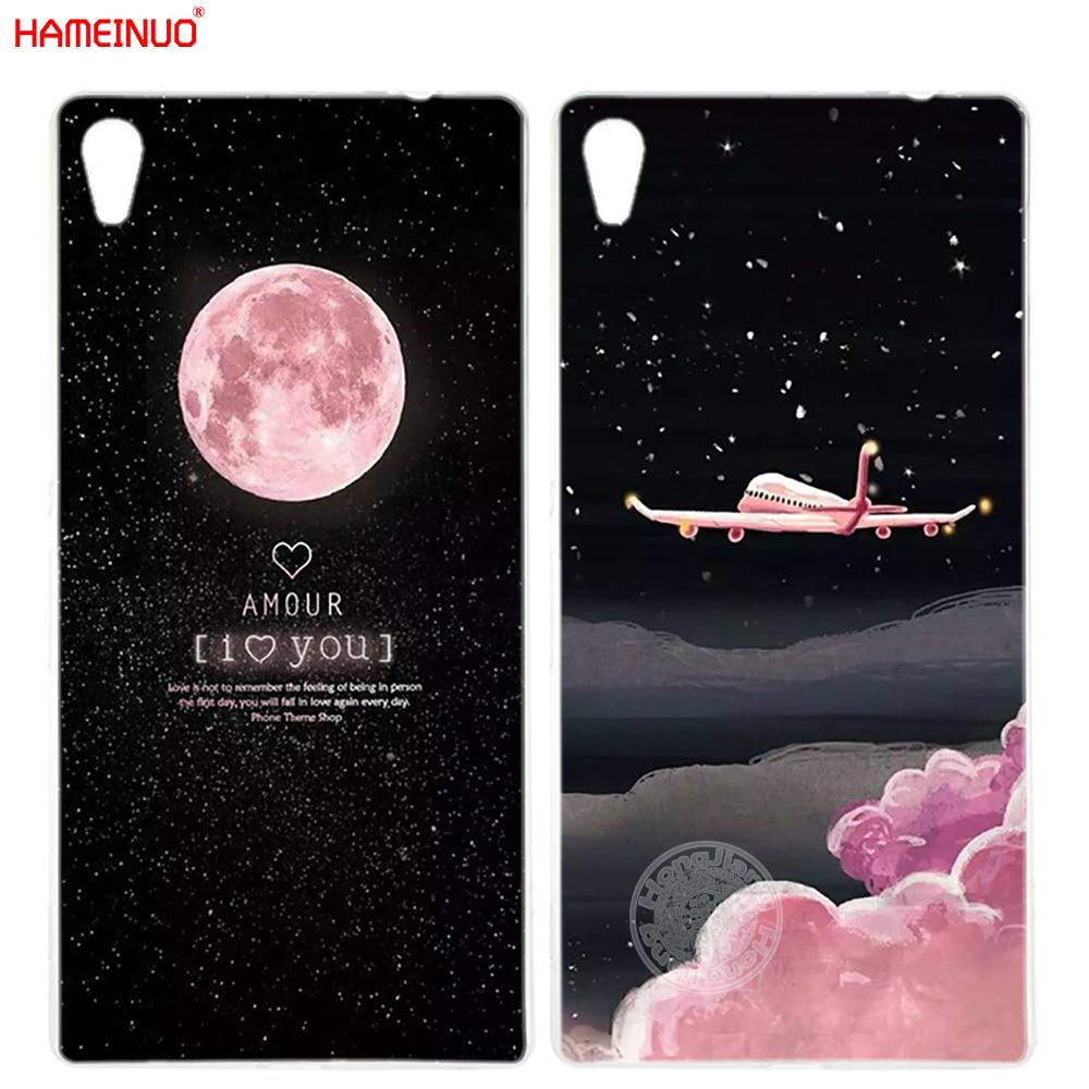 Honesty Hameinuo Space Moon Aircraft Plane Night Cover Phone Case For Sony Xperia C6 Xa1 Xa Ultra X Xp L1 X Compact Xr/xz/xzs Premium Phone Bags & Cases