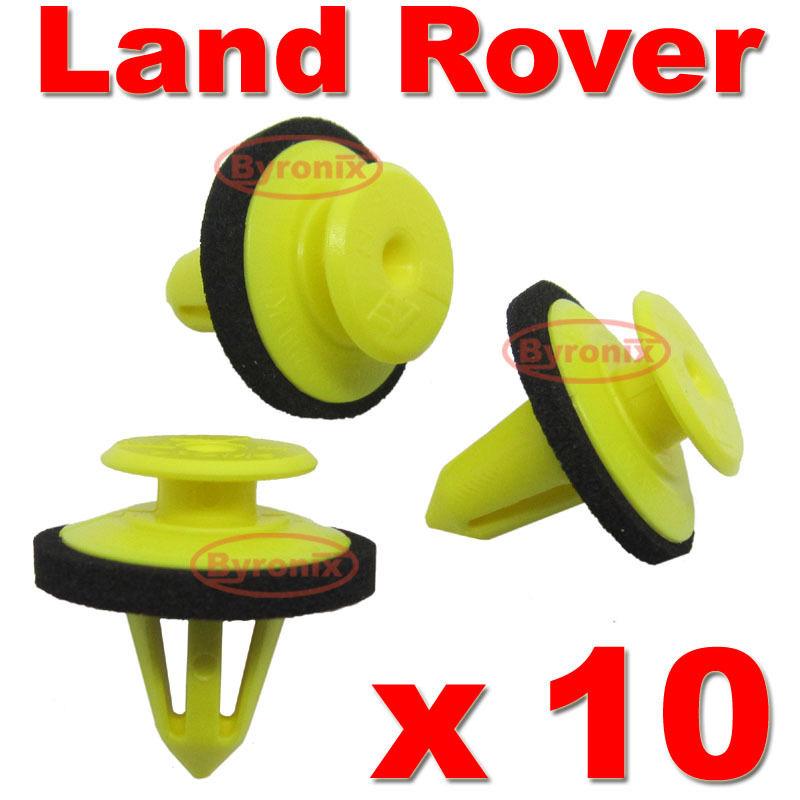 Land Rover /& Range Rover 10x Windscreen Pillar Trim Clips A Pillar Trim Clips