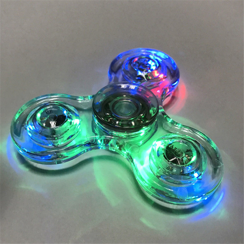 LED Fidget Spinner Stress Relief Toy 8