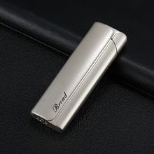 Red Fire Jet Butane Pipe Lighter Metal Torch Lighter Turbo Cigarette 1300 C Windproof Stainless Steel Cigar Lighter NO Gas