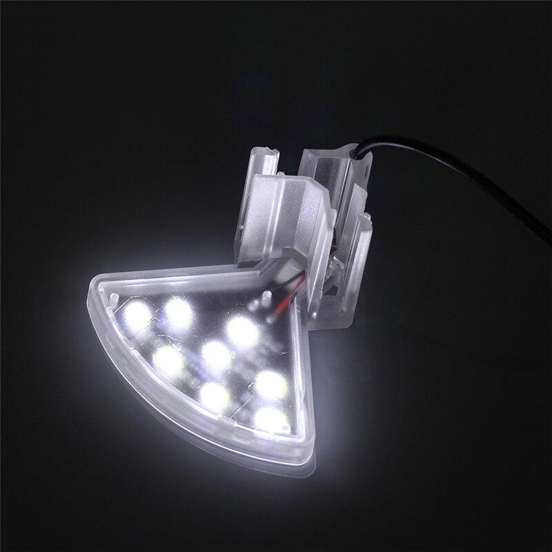 Aquarium LED Light Plants Grow Lighting Fish Tank Waterproof Clip-on Lamp 5