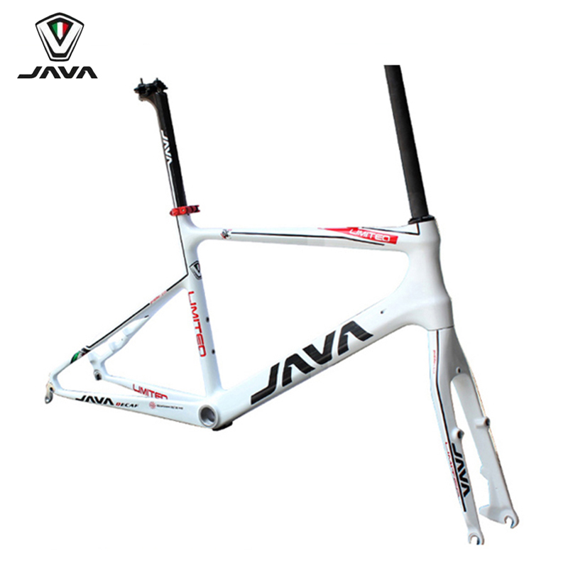 JAVA LIMITED Minivelo Carbon Frameset 20 1 1/8 451 406 Disc brake Caliper Brake Mini velo Frame Fork Seatpost Glossy кей хорстманн java библиотека профессионала том 1 основы