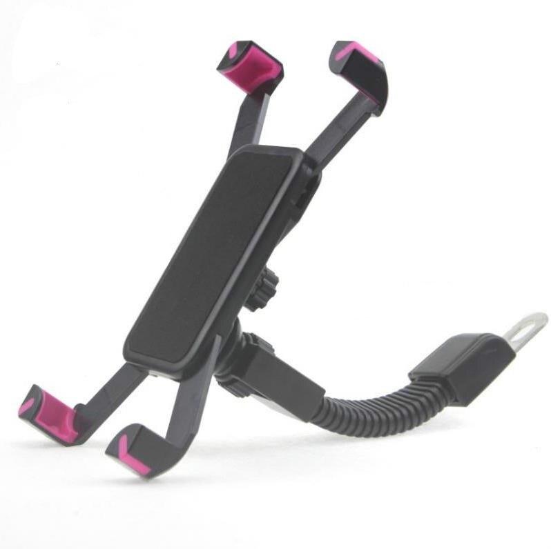 Motorcykel telefonhållare bakre spegel för Moto mobil support för - Reservdelar och tillbehör för mobiltelefoner - Foto 4