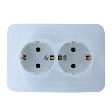 European-style Two-mounted Wall European Standard Power Outlet German 16A Double Socket OA810DB стоимость