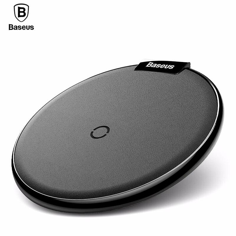 Baseus Qi Sem Fio do Carregador Pad Para iPhone 8 X Samsung nota 8 Carregamento Rápido Desktop Doca De Carregamento Sem Fio Do Telefone Móvel estação