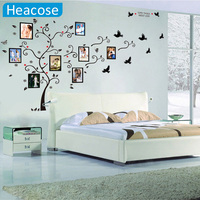 3D DIY Family Photo Tree Wall Decals Love PVC Wall Stickers Large 140 280cm 55 110in