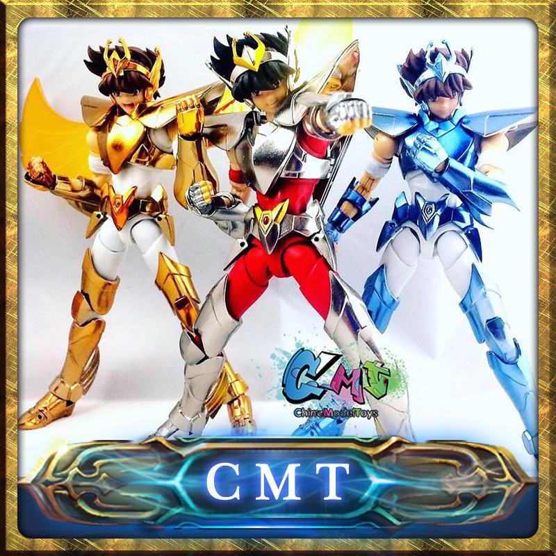 CMT Pegasus Seiya V3 Version final Cloth EX metal armor GREAT TOYS GT EX Bronze Saint Seiya Myth Cloth Action Figure myth cloth anime figure model saint seiya pegasus tenma v1 metal armor action figures for collections