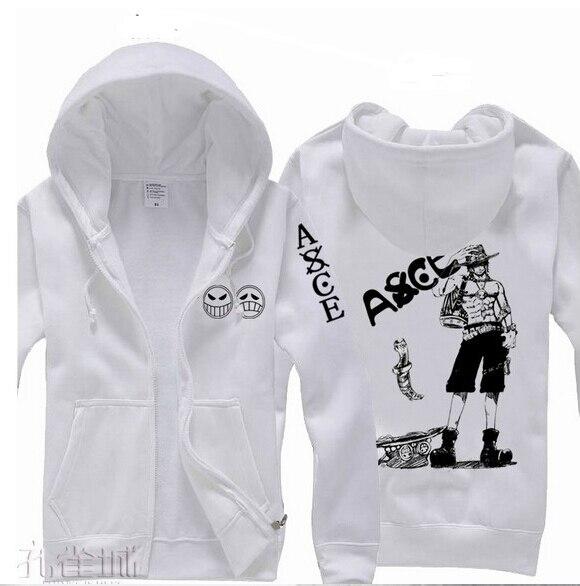 US $19.59 45% OFF|Anime Einem Stück Kostüm Puma D. Ace Mantel Jacke Sweatshirt Cosplay Hoodies Männer Sweatshirt in Hoodies & Sweatshirts aus