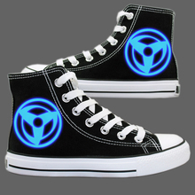 Anime Naruto Luminous Canvas Cosplay Shoes