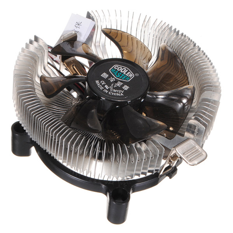 Newest 12V Silent Cooling Fan CPU Heatsink Falcon Bench Cooler Master CPU Computer Fan Cpu Fan Computer Component for asus u46e heatsink cooling fan cooler