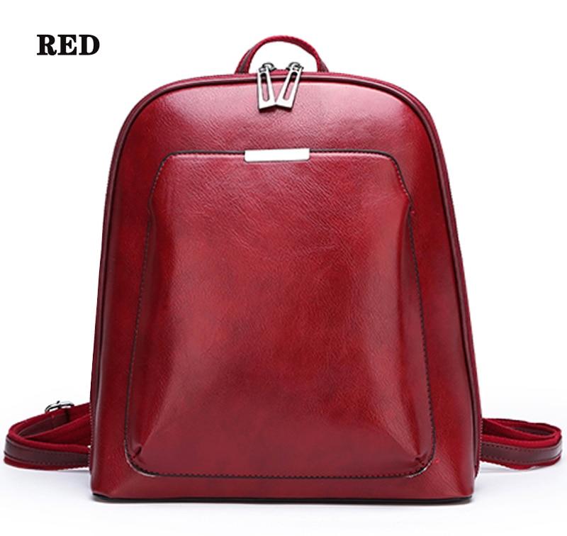 HTB10yEsR4YaK1RjSZFnq6y80pXaP 2019 Women Leather Backpacks For Girls Sac a Dos School Backpack Female Travel Shoulder Bagpack Ladies Casual Daypacks Mochilas