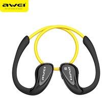 Awei a880bl wireless bluetooth v4.0 auriculares estéreo deportes auriculares del gancho del oído para el teléfono móvil reproductor multimedia portátil deporte