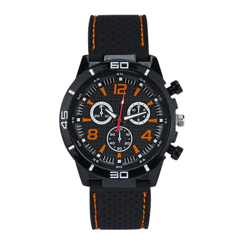 d160fed3847e Smileomg moda hombres Militar relojes deporte reloj silicona moda horas  reloj de cuarzo Shiping libre Navidad regalo