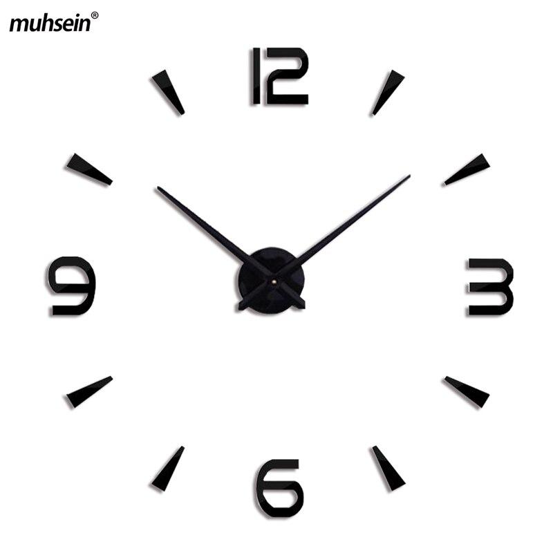 2018 ζεστό πώληση σπίτι διακόσμηση 3d καθρέφτη ρολόγια μόδα ... 510ad69d7b6