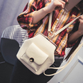 2017 Women's Handbag Solid 3 Color Female Messenger Bag Small Fashion Ladies Crossbody Handbag Women Bags Ladies