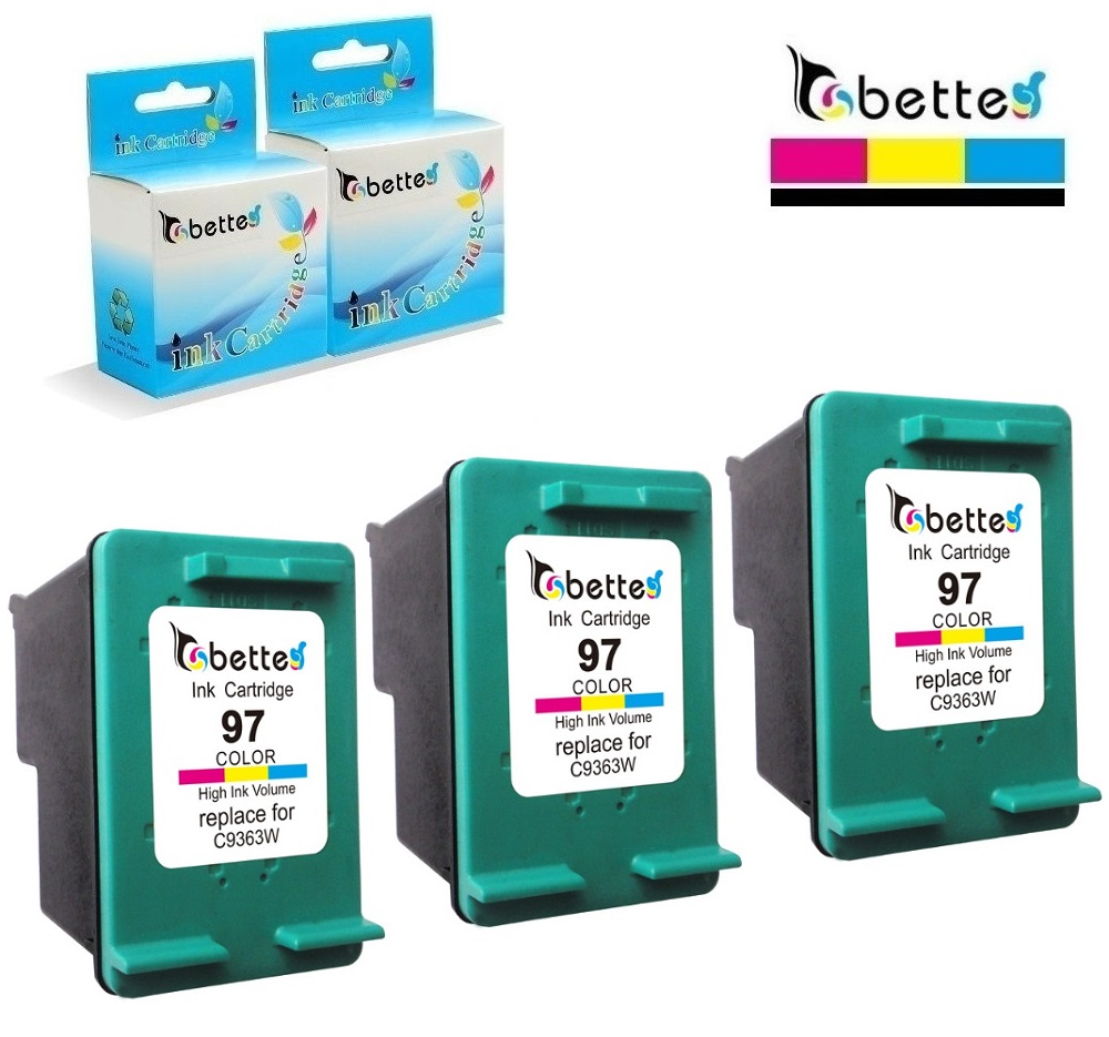 HP97 COLOR Ink Cartridge for HP 97 OfficeJet 6210 Print