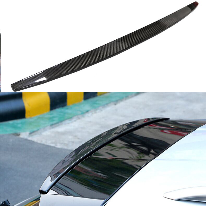 car accessories Macan carbon fiber roof spoiler wing For Porsche macan 2014 2015 2016 olotdi car styling carbon fiber back lip rear bumper diffuser spoiler splitter for porsche macan 2014 2016
